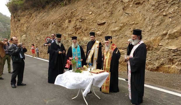 23.5.2016_Παραδόθηκε στην κυκλοφορία η νέα περιφερεακή οδός Σπηλαίου Καστανιάς_1