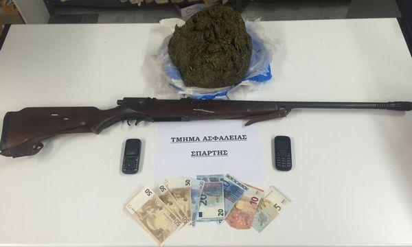 23.6.2016_Συνελήφθη 55χρονος για ναρκωτικά στο Δαφνί Λακωνίας