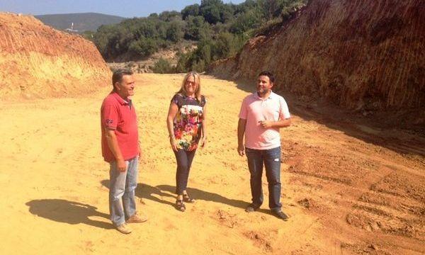29.7.2016_Τα έργα οδοποιίας προς Βασσαρά επισκέφθηκε η Αδαμαντία Τζανετέα