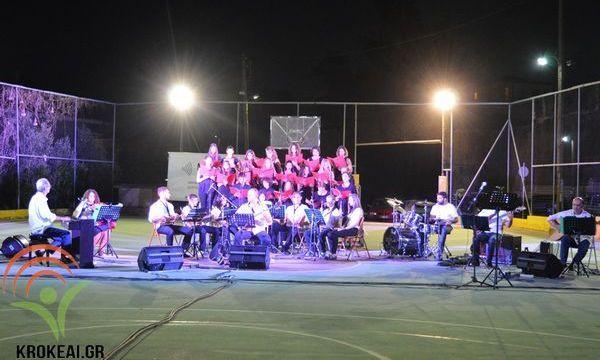 18.8.2016_Εντυπωσίασε η Μουσική Εκδήλωση  Αφιέρωμα στους Έλληνες Συνθέτες στις Κροκεές
