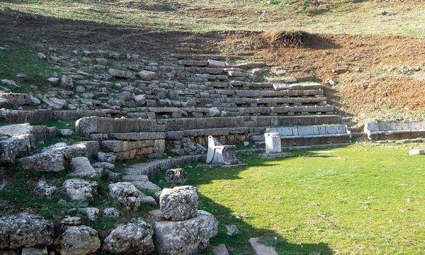 19.8.2016_Ο αγαπητικός της βοσκοπούλας στο Αρχαίο Θέατρο Ορχομενού