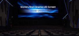 Η πρώτη κινηματογραφική οθόνη LED στον κόσμο, από τη Samsung