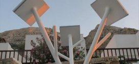 Ένα πρωτότυπο Ηλιακό Δέντρο στη Σίφνο