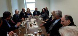 Συνάντηση Τατούλη – Τζανετέα με το Δ.Σ. του Επιμελητηρίου Λακωνίας