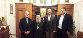 Αντιπροσωπεία του Επιμελητηρίου Λακωνίας στην Ιερά Μητρόπολη Μονεμβασίας και Σπάρτης