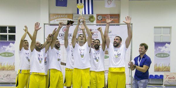 Πρωταθλητής του Laconia Summer Basketour 2018 το Κάστρο Μονεμβασίας