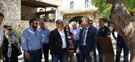 Τη Μονεμβασία επισκέφθηκε ο ΓΓ του ΚΚΕ Δημήτρης Κουτσούμπας