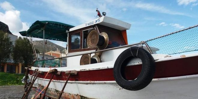 Ανέλπιστη η προσφορά των πολιτών προκειμένου να επισκευαστεί το σκάφος του Φώτη