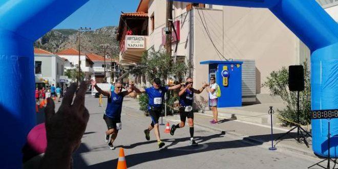 """Σε ρυθμούς """"Run Challenge"""" έτρεξε  για 2η χρονιά η Μονεμβασιά"""