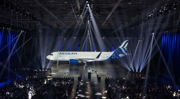 Σε νέα εποχή ανάπτυξης η AEGEAN με την παραλαβή των νέων Airbus A320neo