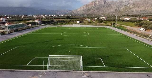 Αναβαθμίστηκε με νέο χλοοτάπητα το γήπεδο της Νεάπολης