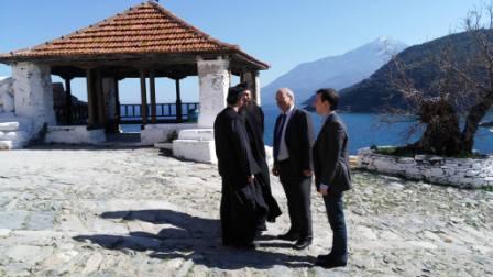24.3.2013_Επίσκεψη Λεωνίδα Γρηγοράκου στο Άγιο Όρος