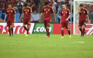 19.6.2014_Ισπανία-Χιλή 0-2. Αποκλείστηκε η παγκόσμια πρωταθλήτρια