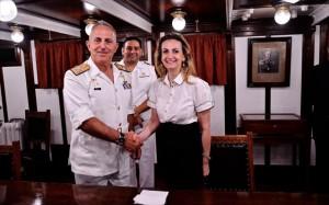 17.7.2014_Μνημόνιο συνεργασίας Ιδρύματος Μείζονος Ελληνισμού και Γ. Ε.Ναυτικού
