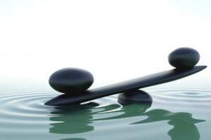 Frontal zen balace