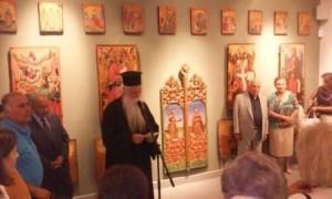 10.9.2014_Μεταβυζαντινές εικόνες από τη Βαμβακού εκτίθενται στην Κουμαντάρειο