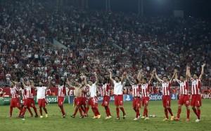 17.9.2014_Champions League Θρίαμβος Ολυμπιακού, 3-2 την Ατλέτικο Μαδρίτης