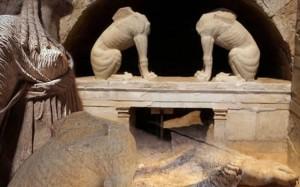 26.9.2014_Αμφίπολη  ενημέρωση για την πορεία της ανασκαφής στο λόφο Καστά