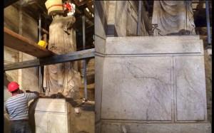 30.9.2014_Εντυπωσιάζουν οι Καρυάτιδες που αποκαλύφθηκαν πλήρως