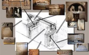 9.9.2014_Παρουσίαση της πρώτης σχεδιαστικής αναπαράστασης του ταφικού μνημείου