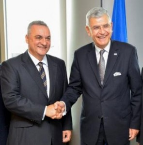17.10.2014_Συνάντηση Μανώλη Κεφαλογιάννη με τον Τούρκο Υπουργό Βολκάν Μποζκίρ