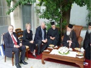 6.10.2014_Τον Οικουμενικό Πατριάρχη επισκέφθηκε η πρύτανης του Ιονίου Πανεπιστημίου_4