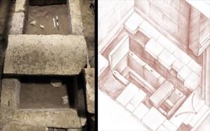 12.11.2014_Αμφίπολη βρέθηκε τάφος και σκελετός στον τρίτο θάλαμο_2