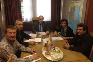 12.11.2014_Με εκπροσώπους του ΕΚΑΒ συναντήθηκε ο Λεωνίδας Γρηγοράκος