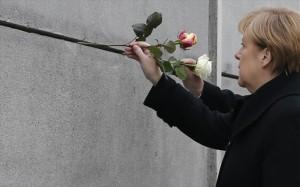 9.11.2014_Μέρκελ αυτό είναι το μήνυμα της πτώσης του Τείχους