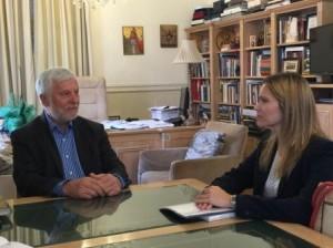 2.12.2014_Συνεργασία Περιφέρειας Πελοποννήσου και Πρεσβείας της Αργεντινής στην Ελλάδα