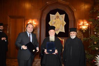 12.1.2015_Υπογραφή Συμφώνου Συνεργασίας μεταξύ της Βουλής των Ελλήνων και της Μονής Αγίας Τριάδος Χάλκης_1