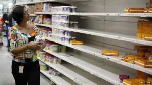 14.1.2015_Βενεζουέλα αστυνομία στα σούπερ μάρκετ - Ψώνια μόνον δύο ημέρες την εβδομάδα