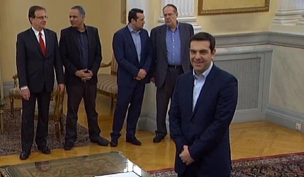 26.1.2015_Ορκίστηκε πρωθυπουργός ο Αλέξης Τσίπρας