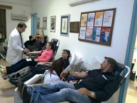 29.1.2015_Εθελοντική αιμοδοσία στο Κέντρο Υγείας Αρεόπολης