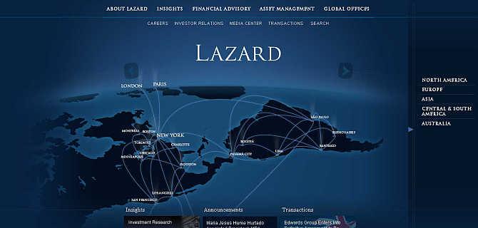 13.2.2015_Οίκος Lazard - Διαγραφή 100 δις από το ελληνικό χρέος