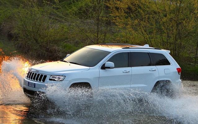 Το νέο Jeep Grand Cherokee.