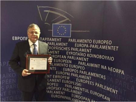 27.2.2015_Το Βραβείο Ευρωπαίου Πολίτη 2014 στον οργανισμό Το Χαμόγελο του Παιδιού