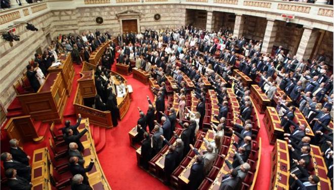 5.2.2015_Ορκίστηκε η νέα Βουλή