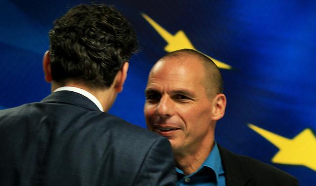 «Η Ελλάδα πετά έξω την τρόικα», σημείωναν σε τίτλους τους πολλά μέσα ενημέρωσης στον απόηχο της συνάντησης του έλληνα υπουργού Οικονομικών Γιάνη Βαρουφάκη με τον επικεφαλής του Eurogroup Γερούν Ντέισελμπλουμ την περασμένη εβδομάδα στην Αθήνα.