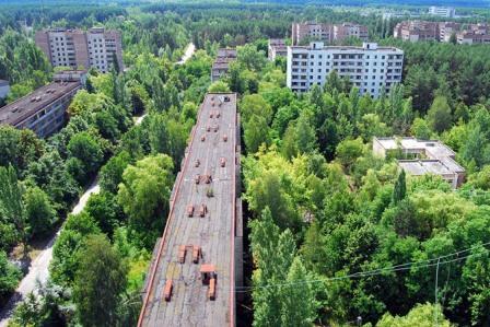 Η ραδιενεργή πόλη-φάντασμα του Πριπιάτ (Τσέρνομπιλ), Ουκρανία.