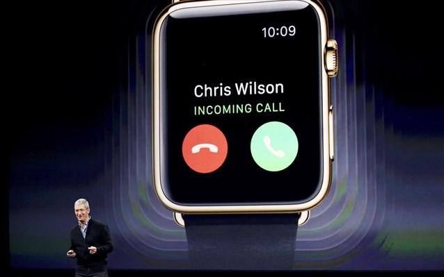 10.3.2015_Από 349 μέχρι...10.000 δολάρια η τιμή του Apple Watch