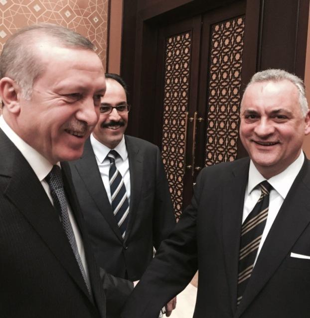 20.3.2015_Συνάντηση  Μανώλη Κεφαλογιάννη με τον Ταγίπ Ερντογάν
