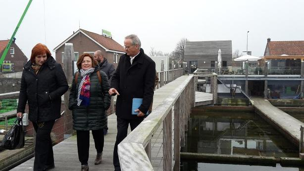 20.3.2015_Συνάντηση της Μαρίας Σπυράκη με την Ολλανδή υπουργό Ανάπτυξης