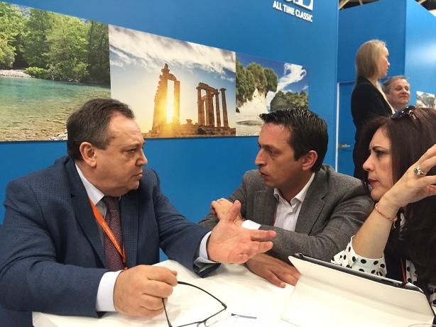 Από την συνάντηση με τον Αντιπρόεδρο της Ένωσης των tour operators της Ρωσίας κ. Yuri Barzykin