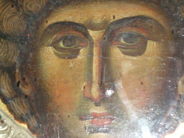 23.4.2015_Θαυματουργικές εικόνες του Αγίου Γεωργίου στην ιερά μονή του Ζωγράφου στο Άγιο Όρος_4
