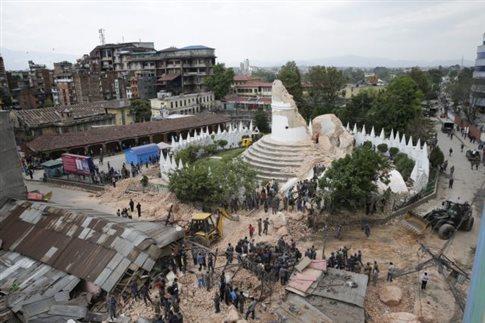 27.4.2015_Νεπάλ - UNICEF 1 εκατ. παιδιά έχουν πληγεί σημαντικά από τον σεισμό