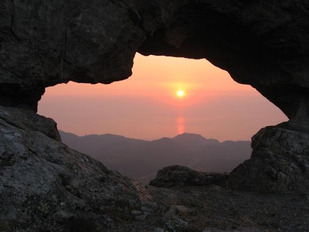 Ανατολή ηλίου από την Κουλοχέρα