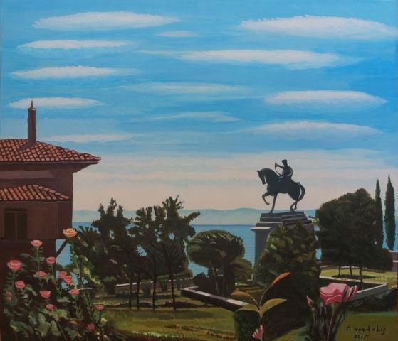 3.6.2015_Έκθεση ζωγραφικής του Δημήτρη Χορδάκη στην Παλιά Μουσική Καβάλας