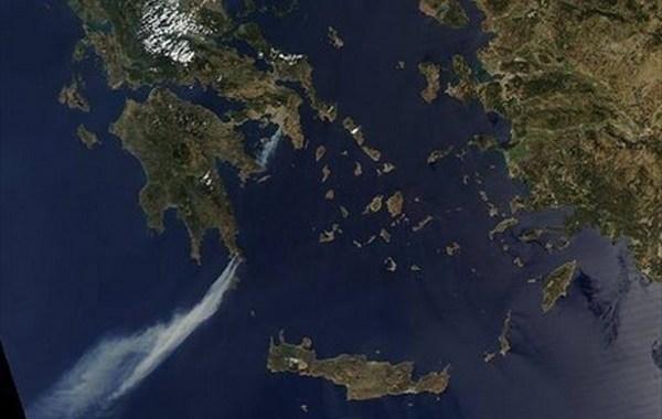 Εικόνα από δορυφόρο