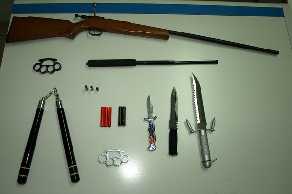 31.7.2015_Συνελήφθη 20χρονος στη Λακωνία για παράβαση της νομοθεσίας για τα όπλα